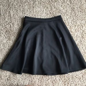 Black Skater Skirt (size s)